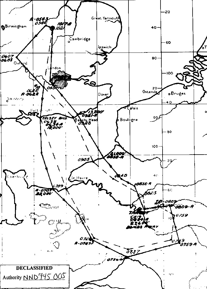 14 Jun 1944 Target Le Bourget Airfield Paris France