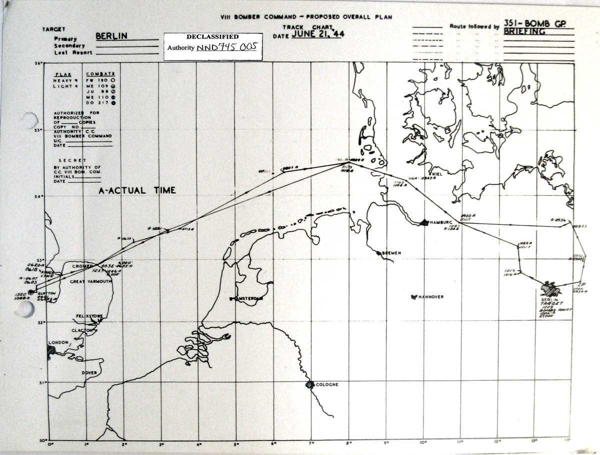 21 Jun 1944 Target Berlin Germany Bombardier Rally 200 Wiring Diagram Click On Chart To Enlarge